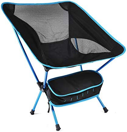 Romatlink Folding Camping Chair,Portable Foldable Camping Picnic Chairs – Compact Lightweight – Aluminium Alloy Ultra-lightwith Drink Holders with Carry Bag for Camping Outdoor Picnic