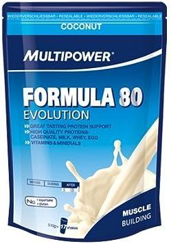 Multipower Formula 80 Coco Mezcla de Proteínas - 510 gr ...