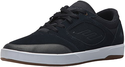 Emerica Men's Dissent Skate Shoe, Navy/White, 11.5 Medium US