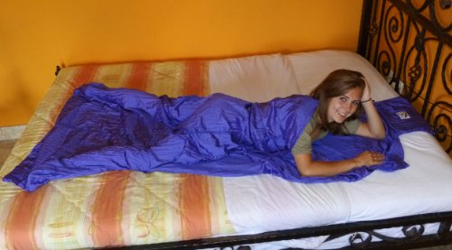 Hammock Bliss Sleep Sack (Purple), Outdoor Stuffs