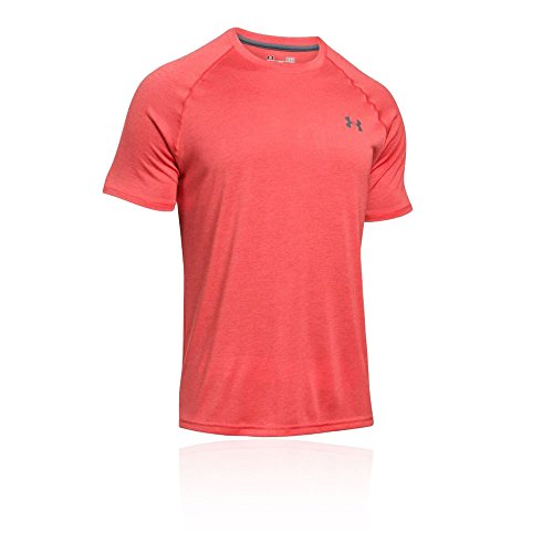 Underarmour UA thre adborne Fitted SS – Pomegranate | -