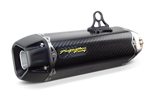 TWO BROS Tarmac Stainless Full Exhaust with Carbon Can for 2017-2018 Honda GROM SF Only -