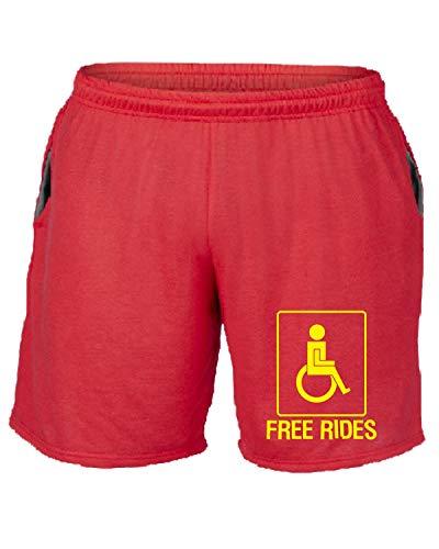 Tuta Trk0730 Rosso shirtshock Rev Rk Parking Pantaloncini T EwqO8Cg
