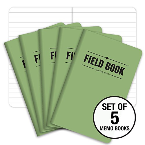 Green Note Notebook (Field Notebook - 3.5