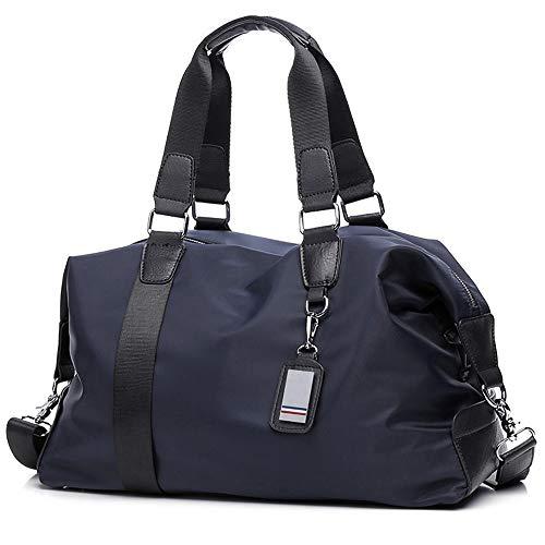 spalla blu da viaggio mano reggiseno Borsa unisex Grande la durante la notte viaggio borse viaggio sportivo nylon weekend borse impermeabile da da Rdwqd4B1