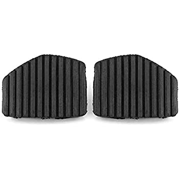 Keenso 2Pcs Brake & Clutch Pedal Pad Rubber Cover For Peugeot/Citroen 1007 207 208 301 C3 C4 C5 C6 C8