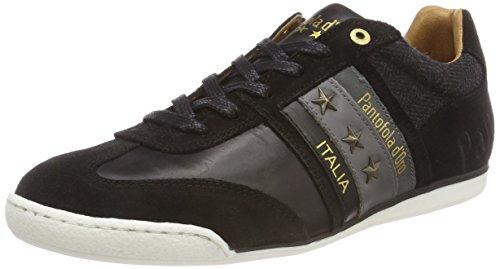 Imola Herren Low Black Schwarz 25y Winter Uomo Sneaker d'Oro Pantofola wUHEq7P