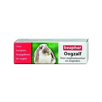 beaphar Augensalbe für Kaninchen, Nagetiere und Vögel - 5 ml
