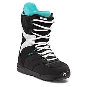Amazon Com Burton Coco Snowboard Boot 2014 Black White 6 5