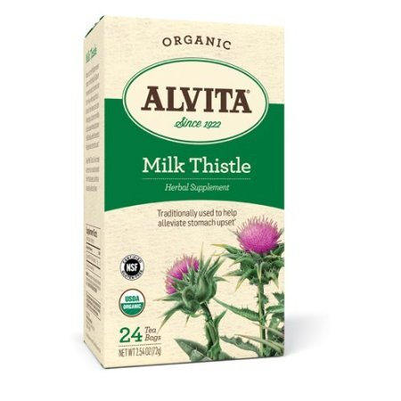 Alvita Teas Organic Herbal Thistle