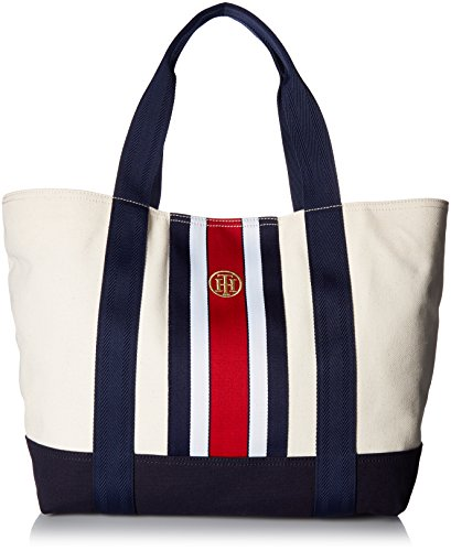 Tommy Hilfiger Bag for Women Canvas Item Tote by Tommy Hilfiger