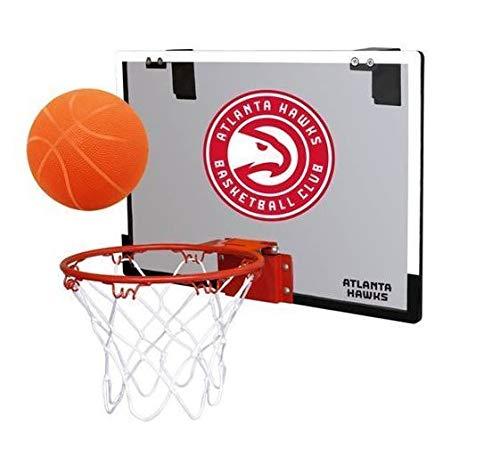NBA Atlanta Hawks Game On Indoor Basketball Hoop & Ball Set, Regular, Red ()