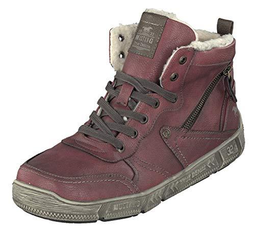Sneakers Rot 4128 601 Mustang Herren gwx8ZtxqT