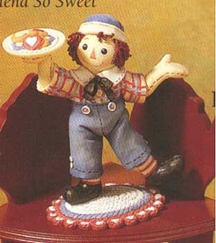 Raggedy Ann and Andy - A Tasty Treat For A Friend So - Raggedy Andy Ann And Collectibles