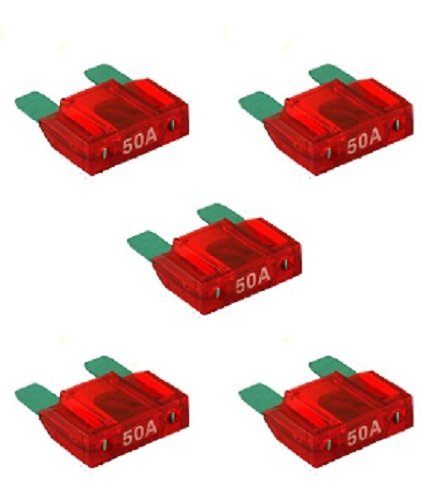 (Maxi Fuse 50 Amps - 5 pack)