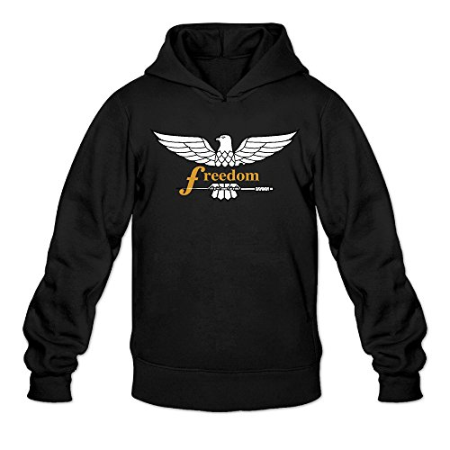 Fenwik Freedom Eagle Classic Men's Hooded Sweatshirts Black (Top 13 Halloween Movies)