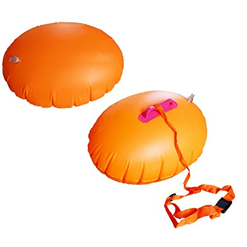 Swimming Pool Aid Inflatable Dual Airbags Increase Buoy Swim Ring Buoy Swimming Solid Float