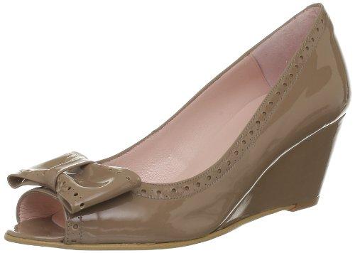 Studio Paloma - Zapatos De Tacón Alto, Mujer, Marrón (marron (charol 6363)), 38