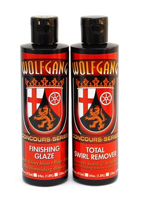 Wolfgang Paint Sealant (Wolfgang 8 oz. Swirl Remover Combo)