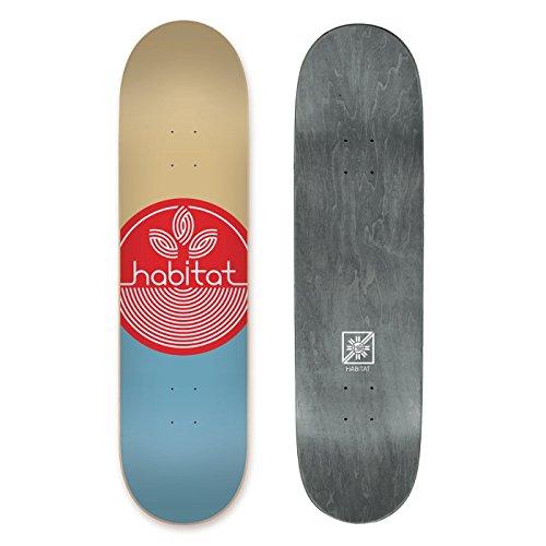 Habitat SKATEBOARDS Leaf Dot Pp XL - Assorted, (Habitat Skateboard Deck)