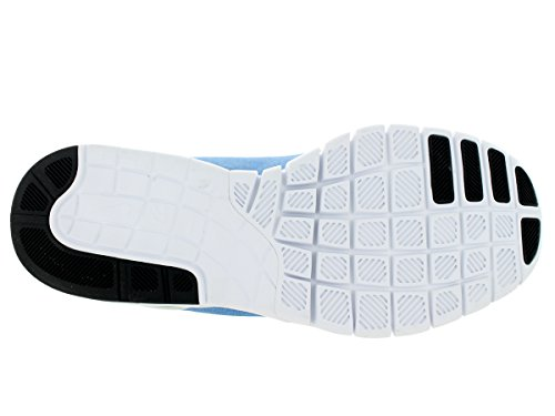 Mens NRG Sneakers 1 White Athletic Air Blue Suede