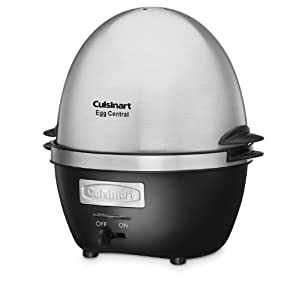 Cuisinart CEC-10 Central Egg Cooker, normal, Brushed Stainless Steel