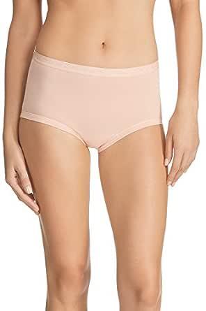 Bonds Women's New Cottontails Full Brief, Base Blush, 12