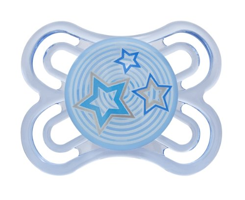 MAM Perfect Silicone Pacifier, Assorted Colors, 0-6 Months]()