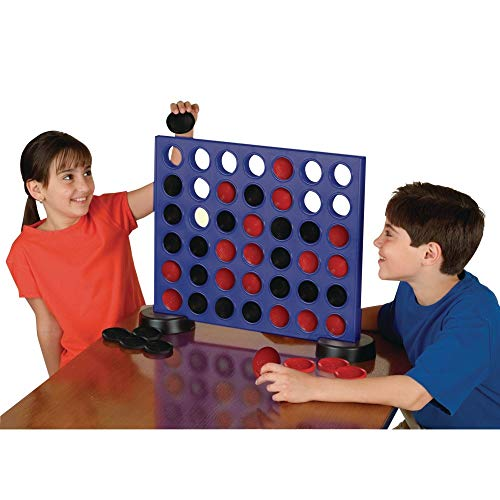 S&S Worldwide W12919 Giant 2-in-1 Four in A Row and Checkers Game from S&S Worldwide