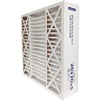 Air Cleaner Filter, 20x20x3, 11MERV, PK2