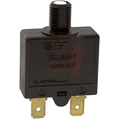 6a Circuit Breakers - E-T-A Circuit Protection and Control 1658-G21-01-P10-6A , Circuit Breaker, Therm, Push, Cur-Rtg 6A, Flange, 1 Pole, Vol-Rtg 240/28VAC/VDC