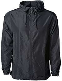 Global Men s Hooded Lightweight Windbreaker Winter Jacket Water Resistant  Shell 8a532ba8b