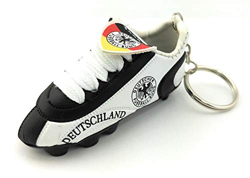 Mini Soccer Cleat KeyChain (Germany) (Germany Mini Soccer Ball)
