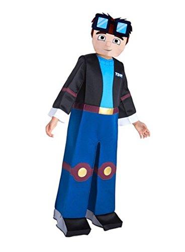 Tube Heros Dan TDM Costume Size Medium 7-8