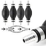 10mm Rubber Fuel Transfer Vacuum Fuel Line Hand