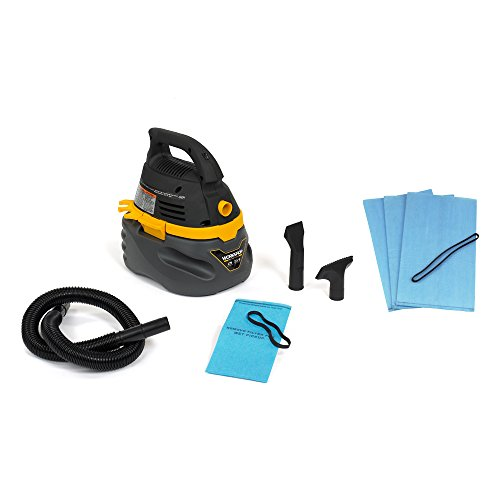 B00FX39FRS WORKSHOP Wet/Dry Vacs WS0250VA Compact and Portable Wet Dry Shop Vacuum with Vacuum Filter Bag by WORKSHOP Wet/Dry Vacs (Image #1)