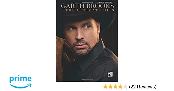 Amazon The Garth Brooks The Ultimate Hits Easy Guitar Tab