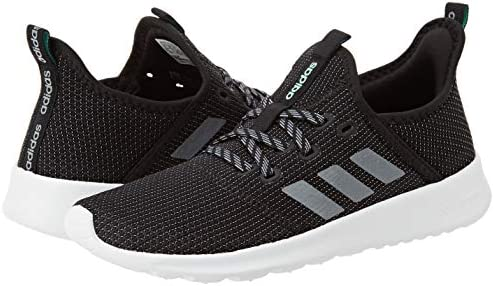 41Lp3hj23NL. AC adidas Women's Cloudfoam Pure Running Shoe    Explore your surroundings. These adidas running-inspired shoes feature a foot-hugging knit upper and a female-friendly fit. Soft midsole cushioning adds comfort as you head out for coffee or discover a busy side street.