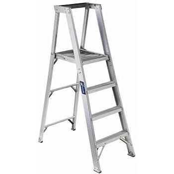 Louisville Ladder Ap1010 300 Pound Duty Rating Aluminum