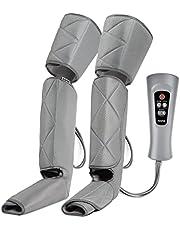 RENPHO beenmassage, voetmassage, compressiemassage met 4 luchtdrukintensiteiten, 6 massagemodi voor kuiten, voeten en dijen, beenmassage-apparaat tegen zwelling en vermoeide benen
