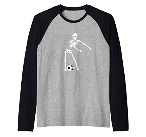 Flossing Skeleton Soccer Shirt Floss Dance Boys Men Raglan Baseball -