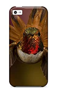 Fashionable QDSAlDG7395QPBIU Iphone 5c Case Cover For Nature Animal Bird Reflection Green National Geographic Protective Case