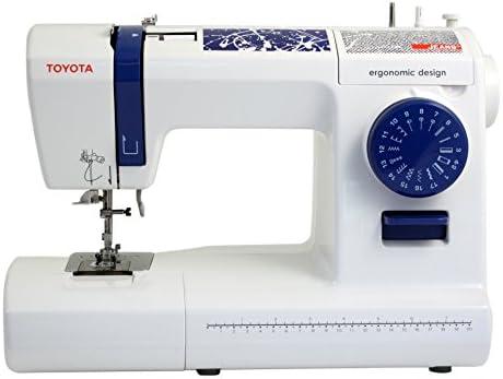 Toyota Jeans 17C Eléctrico - Máquina de Coser (Blanco, Costura ...