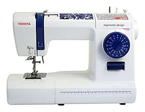 Toyota Jeans 17C Eléctrico - Máquina de Coser (Blanco, Costura, Paso 4,
