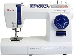 Toyota Jeans 17C Eléctrico - Máquina de Coser (Blanco, Costura, Paso 4, Eléctrico, 65 W, 412 mm): Amazon.es: Hogar