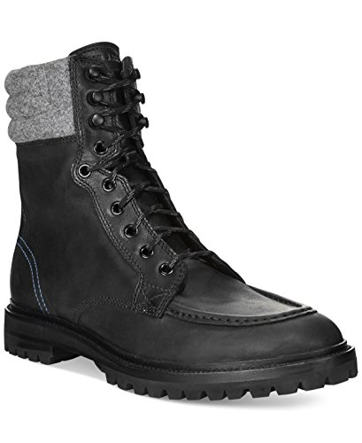 Cole Haan Mens Judson Tall Water Resistant Winter Boot Shoes, Black, US 7