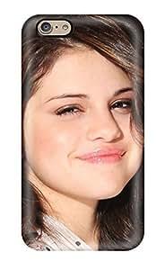 Fashion PC Case For Iphone 6- Selena Gomez 65 Defender Case Cover