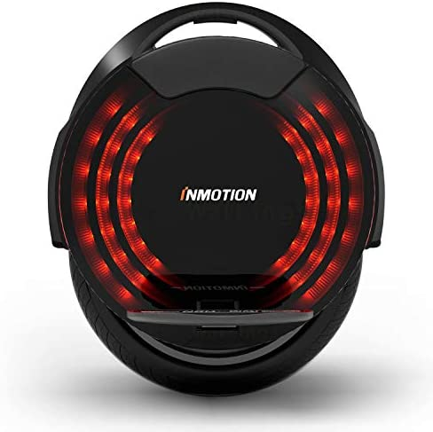 InMotion V8F Gyroroue Adulte Unisexe, Noir, Unique