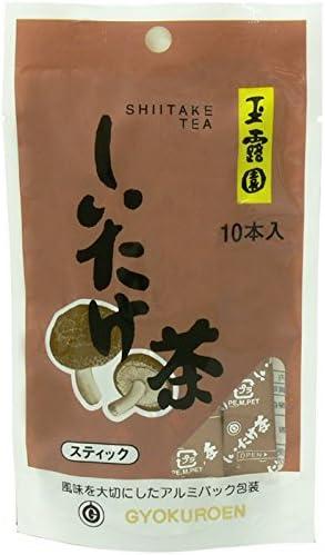 玉露園 しいたけ茶 スティック (2g×10)