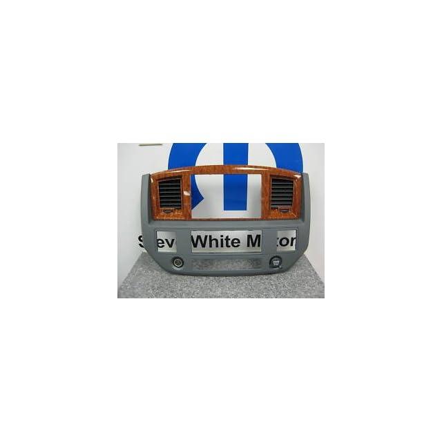 2006 2009 DODGE RAM GPS NAV DASH RADIO BEZELS BEZEL MOPAR